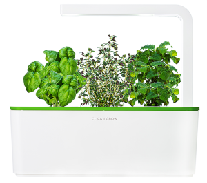the latest technology for growing indoors the smart herb garden