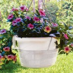 Hanging Basket Drip Pans 10 In