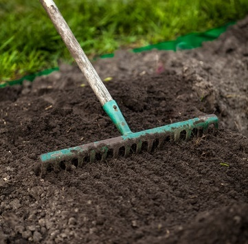 prepare garden bed for starting seeds