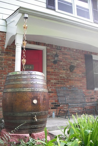 Rain Barrels Decorative And Diy Rainwater Collection Systems