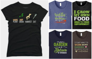 My Favorite Gardening T Shirts: A Practical Gift For Almost Everyone