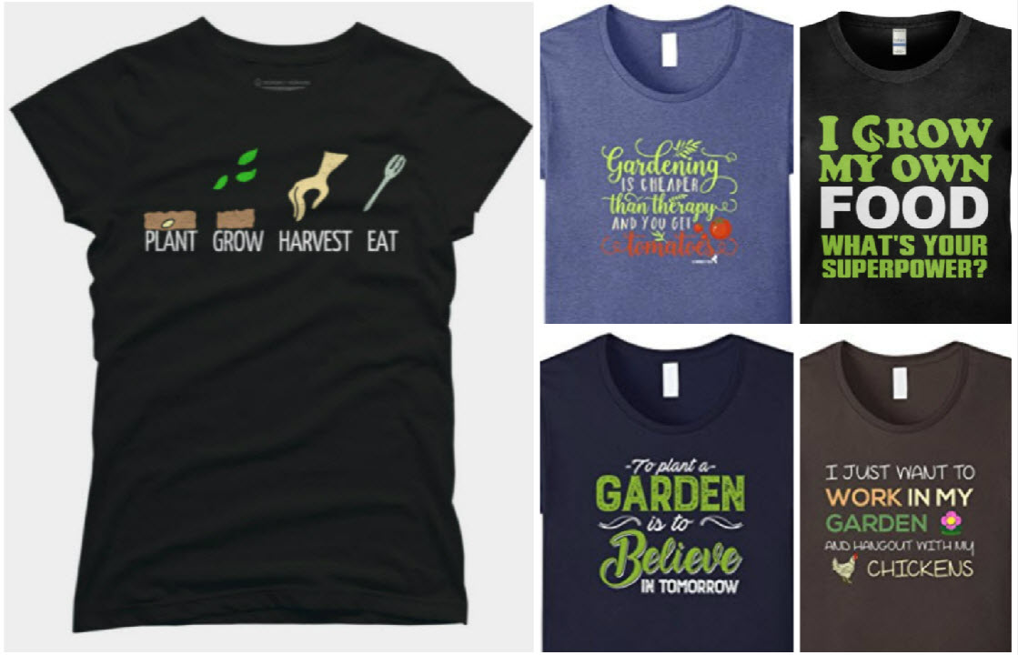 68289bd837 My Favorite Gardening T Shirts: A Practical Gift For Almost Everyone
