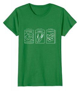 green gardening t-shirt