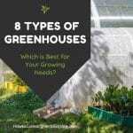 different types of greenhouses shown next to each other