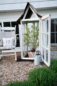 window frame greenhouse by White Cottage Farm